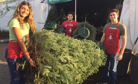 The Youth Center's 20th Annual Tree Lot Is Coming Home to Ganahl Lumber