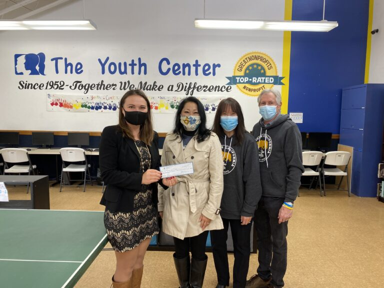 The Carrie Townsend Foundation Grants The Youth Center $2,500