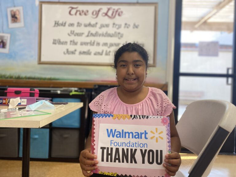 During Challenging Times Walmart Steps Up to Support The Youth Center